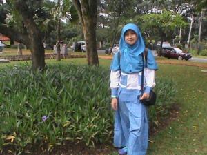 kunjungan taman bunga
